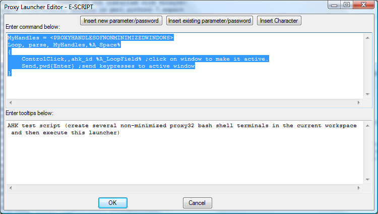 Integration of Proxy32 with AutoHotKey Scripting Language