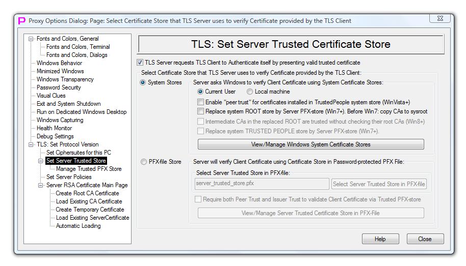 TLS Certificates Validation